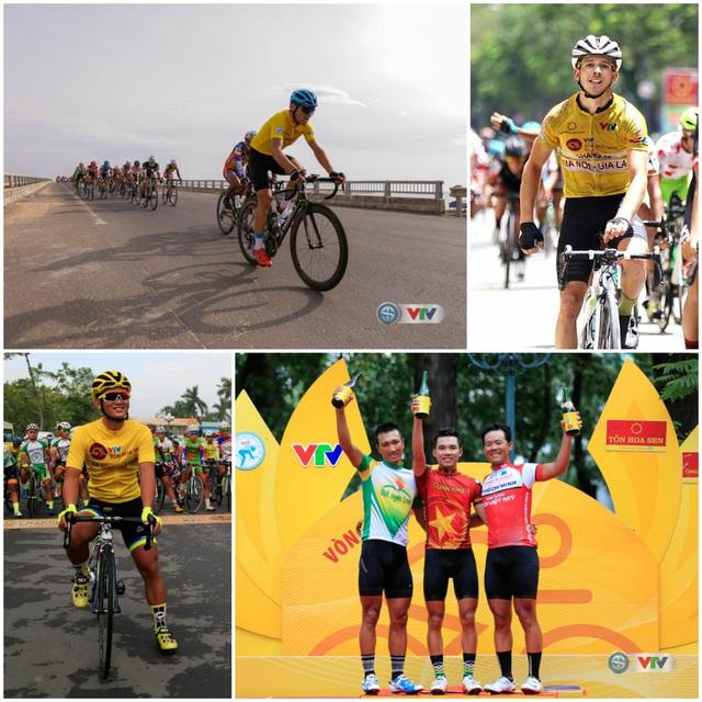 Nhìn lại lịch sử giải xe đạp VTV Cúp Tôn Hoa Sen: Điểm mặt anh hào những tay đua xuất sắc - Ảnh 1.