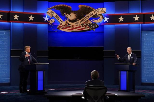 Bầu cử Tổng thống Mỹ 2020: Nhiều cử tri đặt kỳ vọng vào cuộc tranh luận cuối cùng trên truyền hình - Ảnh 1.