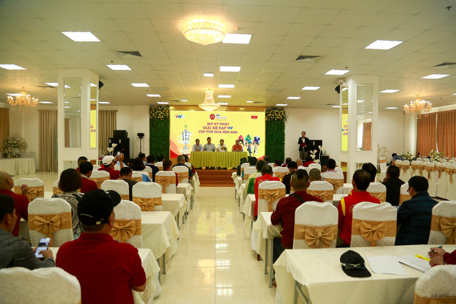 BTC họp kỹ thuật chuẩn bị chuyên môn Giải xe đạp VTV Cúp Tôn Hoa Sen 2020 - Ảnh 2.