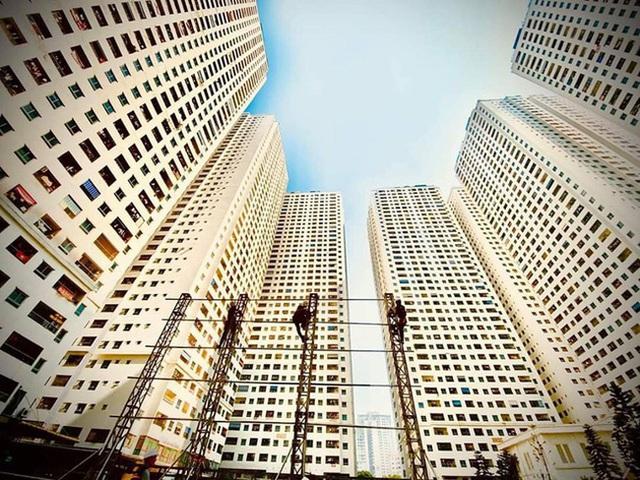 """Giá chung cư Hà Nội đạt ngưỡng trần, chủ đầu tư khó """"đẩy"""" giá thêm? - Ảnh 1."""