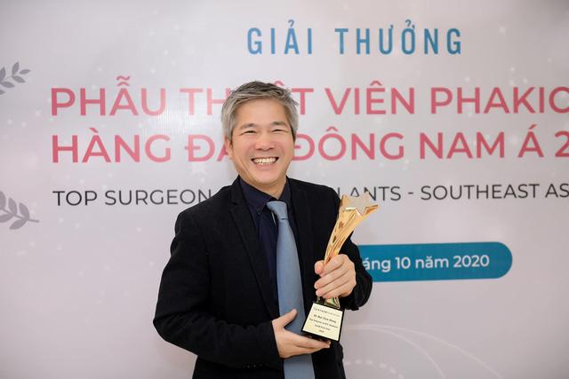 Bạn trai diva Thanh Lam nhận giải thưởng uy tín về nhãn khoa - Ảnh 1.