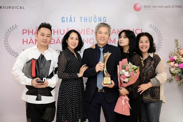 Bạn trai diva Thanh Lam nhận giải thưởng uy tín về nhãn khoa - Ảnh 2.