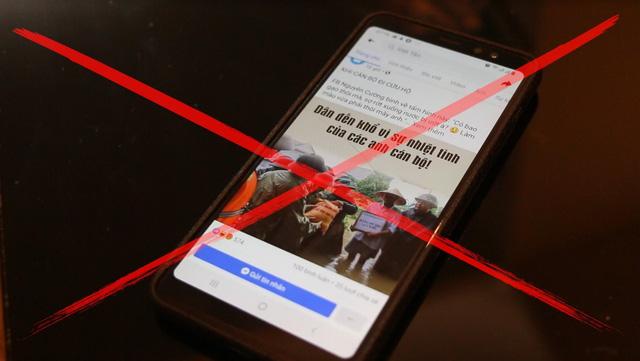 Cảnh giác trước những thông tin bịa đặt trên mạng xã hội trong mùa mưa lũ - Ảnh 3.