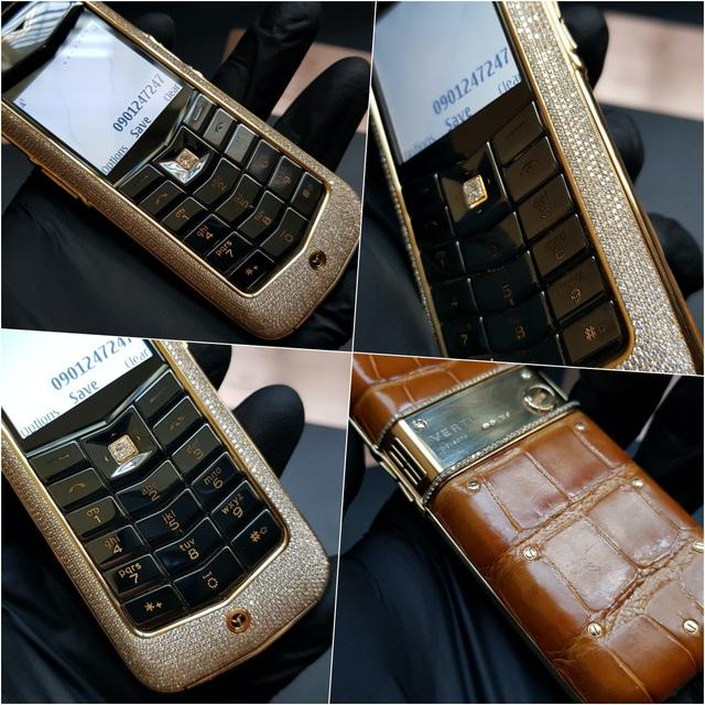 Mục sở thị 5 chiếc điện thoại Vertu đắt nhất thế giới tại Nguyễn Lân (Kỳ Lân Luxury) - Ảnh 5.