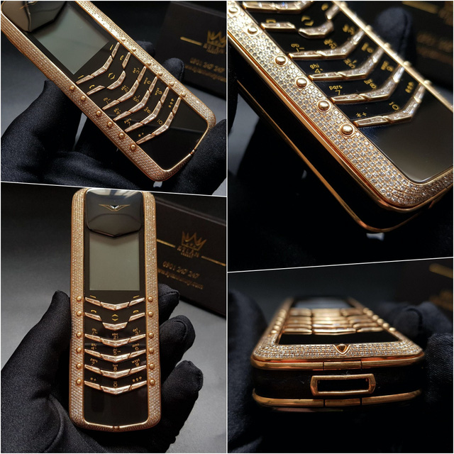 Mục sở thị 5 chiếc điện thoại Vertu đắt nhất thế giới tại Nguyễn Lân (Kỳ Lân Luxury) - Ảnh 6.