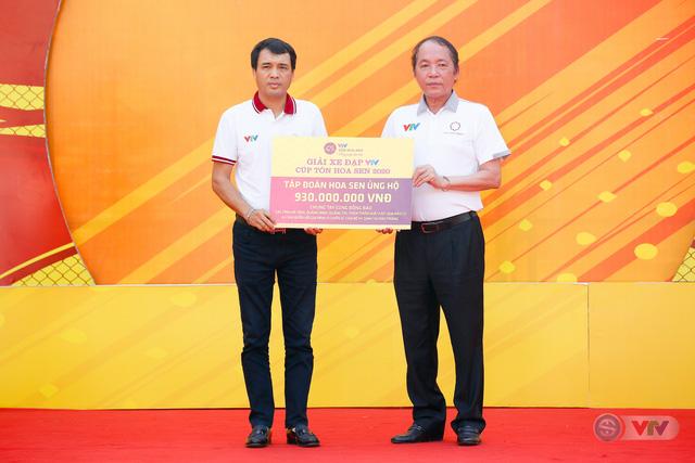 Giải xe đạp VTV Cúp Tôn Hoa Sen 2020 chung tay Hướng về miền Trung thân yêu - Ảnh 1.