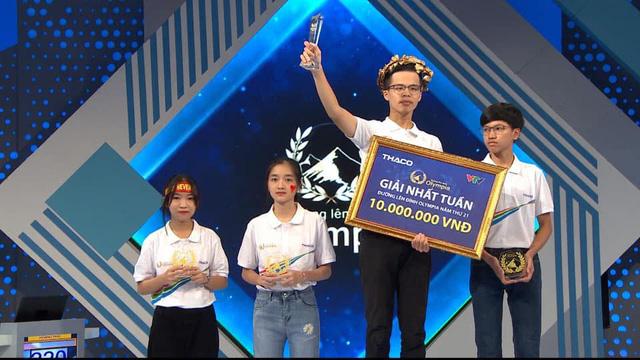 Nam sinh Hà Nội xác lập kỷ lục mới tại Đường lên đỉnh Olympia 2021 - Ảnh 1.