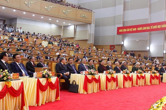 Khai mạc Đại hội Đại biểu Đảng bộ tỉnh Hưng Yên lần thứ 19 - Ảnh 1.