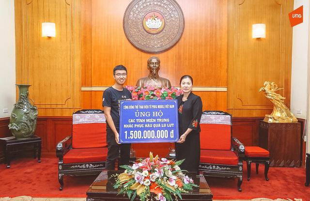 Cộng đồng PUBG Mobile Việt Nam chung tay ủng hộ đồng bào miền Trung - Ảnh 1.