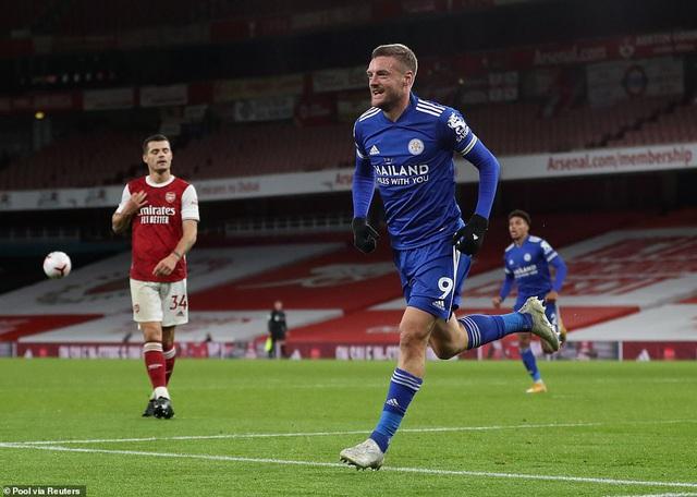 Arsenal 0-1 Leicester City: Dấu ấn chiến thuật, người hùng Vardy - Ảnh 3.