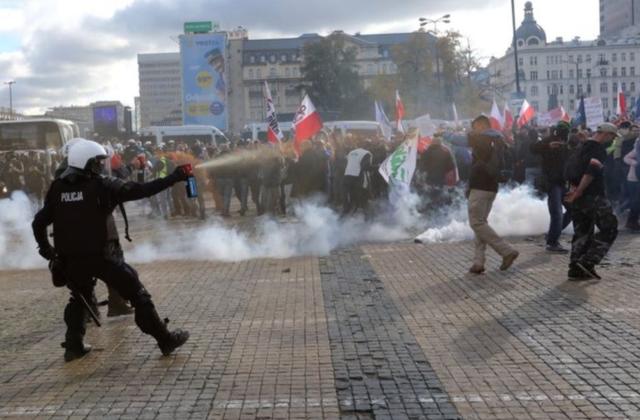 Ba Lan bắt giữ gần 300 người biểu tình, xử lý mạnh tay người vi phạm giãn cách xã hội - Ảnh 2.