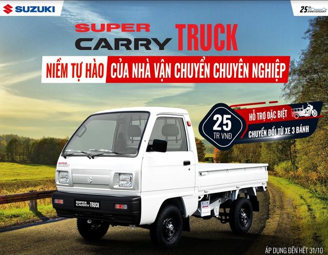 Suzuki thực hiện cách mạng hậu mãi, tung khuyến mại đặc biệt cho xe tải nhẹ - Ảnh 2.