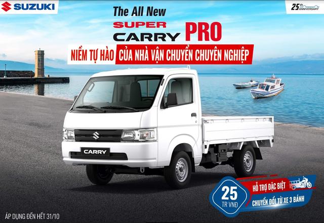 Suzuki thực hiện cách mạng hậu mãi, tung khuyến mại đặc biệt cho xe tải nhẹ - Ảnh 4.