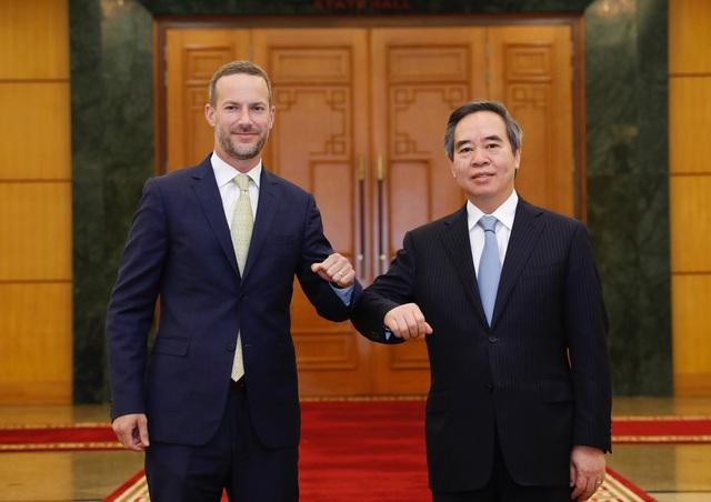 Thúc đẩy hoạt động đầu tư thương mại giữa Việt Nam - Hoa Kỳ - Ảnh 1.