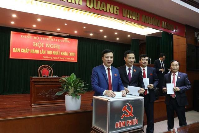 Ông Phạm Xuân Thăng được bầu giữ chức Bí thư Tỉnh ủy Hải Dương - Ảnh 1.