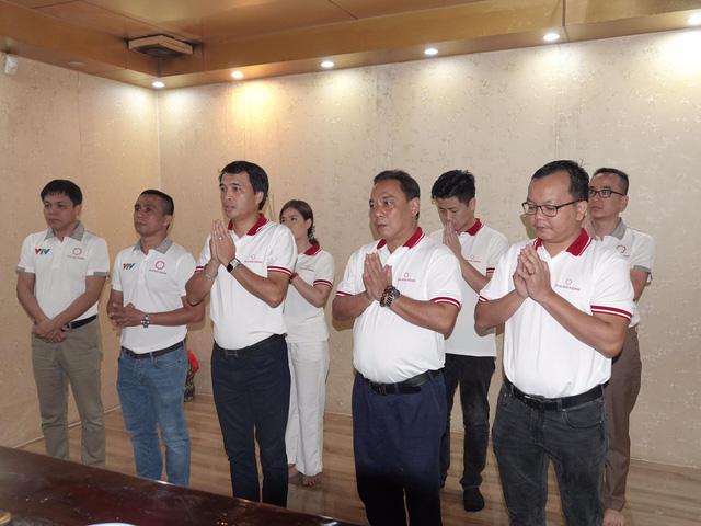 Ban tổ chức giải xe đạp VTV Cúp tưởng niệm Chủ tịch Hồ Chí Minh - Ảnh 1.