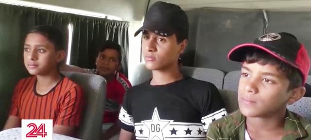Dịch bệnh kéo dài, nhiều trẻ em Iraq bị đẩy ra đường kiếm sống - Ảnh 1.