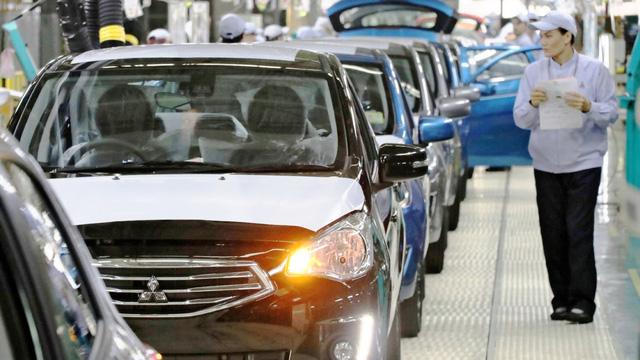 """COVID-19 khiến ngành công nghiệp ô tô Thái Lan """"điêu đứng"""" - Ảnh 1."""