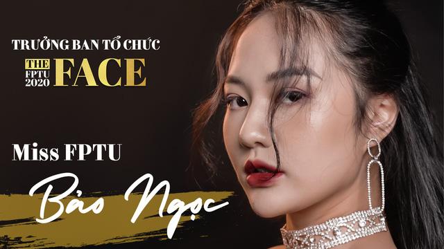 Hoa khôi Đại học sắm vai Trưởng ban tổ chức The Face FPTU - Ảnh 1.