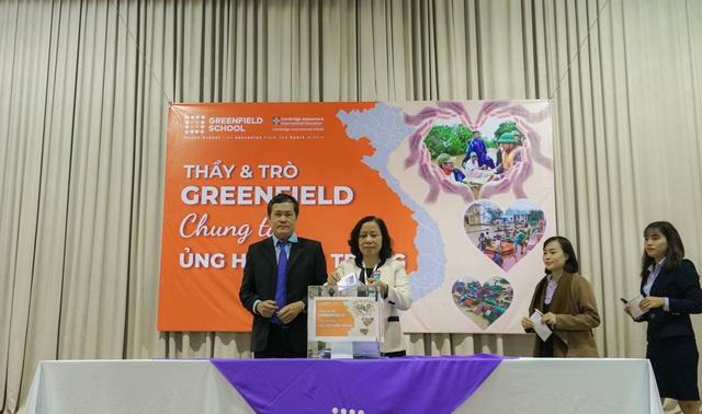 Trường Song ngữ Liên cấp Greenfield (KĐT Ecopark) đồng hành cùng Quỹ Tấm lòng Việt ủng hộ miền Trung - Ảnh 2.