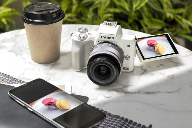 Canon ra mắt máy ảnh EOS M50 Mark II chuyên cho vlogger - ảnh 1