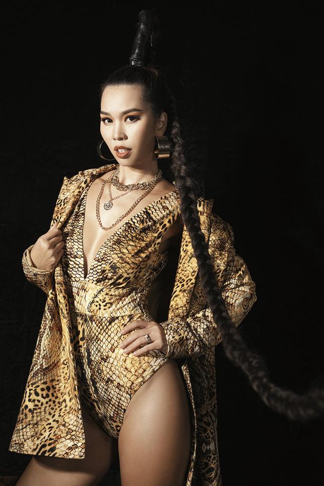 Lan Khuê., Khá.nh Vâ.n mở mà.n ấ.n tư.ợ.ng tạ.i Vietnam Runway Fashion Week - Ảnh 9.