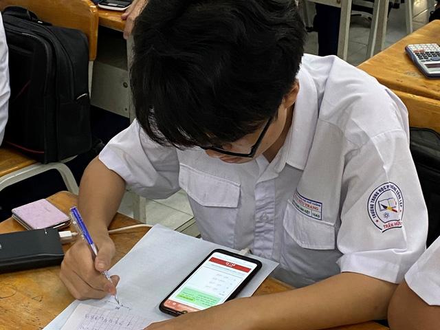 Kiểm tra, đánh giá giữa kỳ qua hệ thống Trường học thông minh 789.vn - ảnh 1