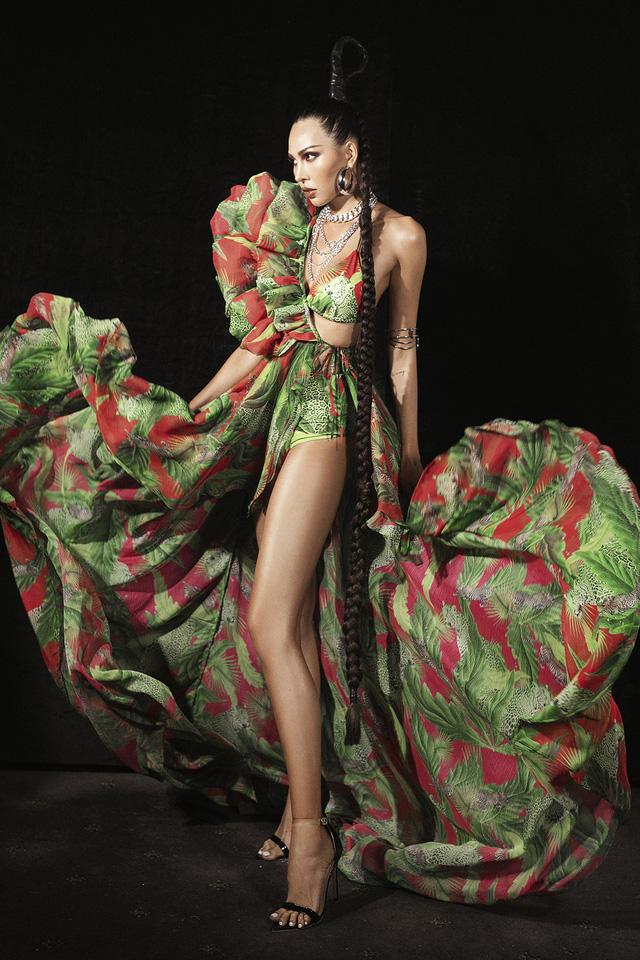 Lan Khuê., Khá.nh Vâ.n mở mà.n ấ.n tư.ợ.ng tạ.i Vietnam Runway Fashion Week - Ảnh 10.