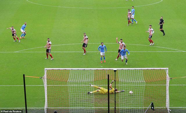 Sheffield United 0-1 Manchester City: Kyle Walker lập siêu phẩm, Man City thắng tối thiểu Sheffield - Ảnh 3.