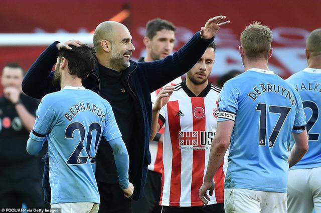 Sheffield United 0-1 Manchester City: Kyle Walker lập siêu phẩm, Man City thắng tối thiểu Sheffield - Ảnh 4.