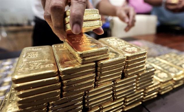 Giá vàng trong nước đi ngược dự báo về một đợt rung lắc mạnh? - Ảnh 1.