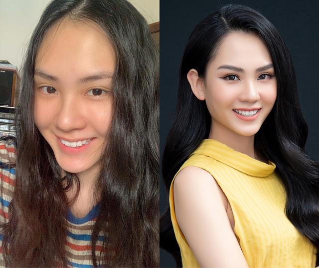 Loạt ảnh mặt mộc của thí sinh Bán kết Hoa hậu Việt Nam 2020 - Ảnh 1.