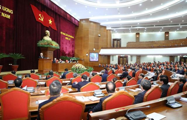 Tổng Bí thư, Chủ tịch nước: Không vì cơ cấu, số lượng mà hạ thấp tiêu chuẩn - Ảnh 2.