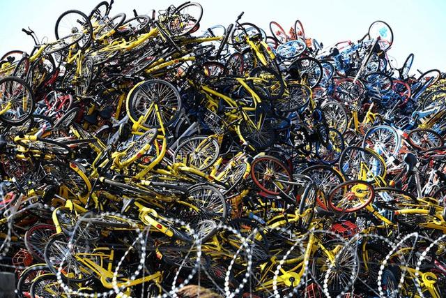 """""""Nghĩa địa xe đạp tại Trung Quốc - Ảnh 1."""