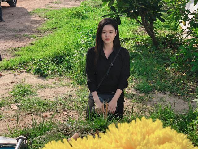 Ngắm vẻ xinh đẹp từ mọi góc nhìn của Trương Quỳnh Anh trong hậu trường Trói buộc yêu thương - Ảnh 4.