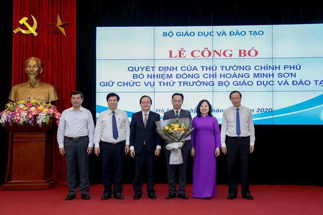 Công bố quyết định bổ nhiệm Thứ trưởng Bộ Giáo dục và Đào tạo Hoàng Minh Sơn - Ảnh 1.