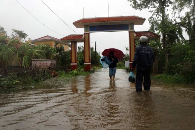 Thừa Thiên - Huế mưa lớn trở lại - Ảnh 2.