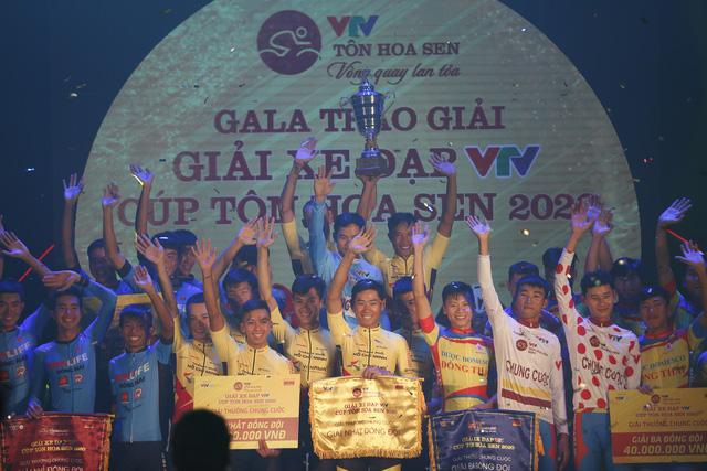 Gala bế mạc và trao giải Giải xe đạp VTV Cúp Tôn Hoa Sen 2020 - Ảnh 9.