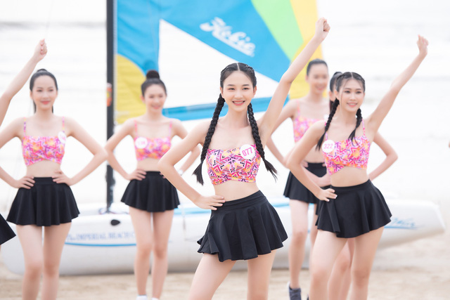 Thí sinh Hoa hậu Việt Nam 2020 sở hữu 10 huy chương bơi lội - Ảnh 2.