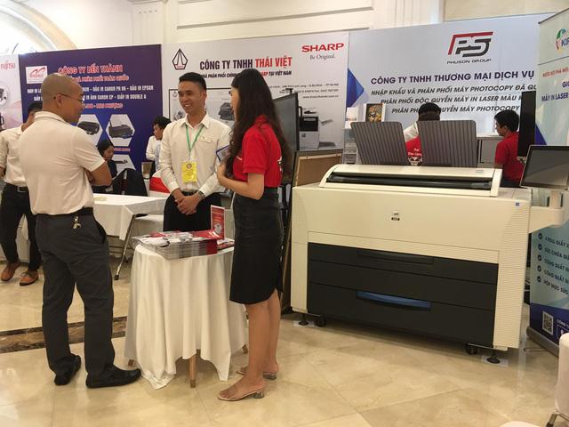 400 doanh nghiệp tham gia sự kiện Ngày truyền thống ngành thiết bị máy văn phòng Việt Nam - Ảnh 2.