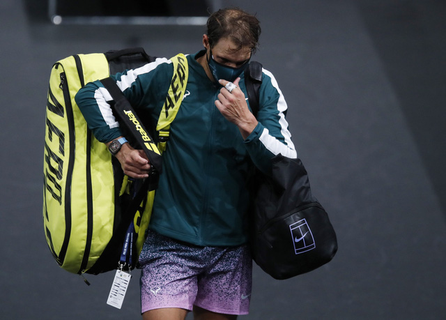 Vì COVID-19, giải đấu đặc biệt ATP Finals 2020 có những quy định chưa có trong tiền lệ - Ảnh 1.