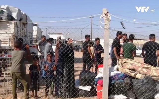 Trại tị nạn Iraq đóng cửa, nguy cơ 100 nghìn người trở thành vô gia cư - Ảnh 1.