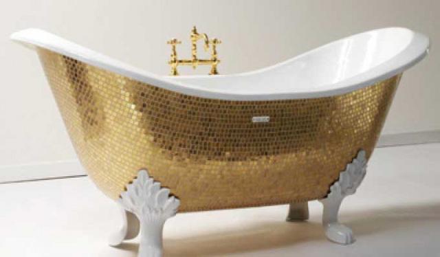 Những chiếc bồn tắm siêu đắt đỏ chỉ có trong dinh thự của các tỷ phú - Ảnh 2.