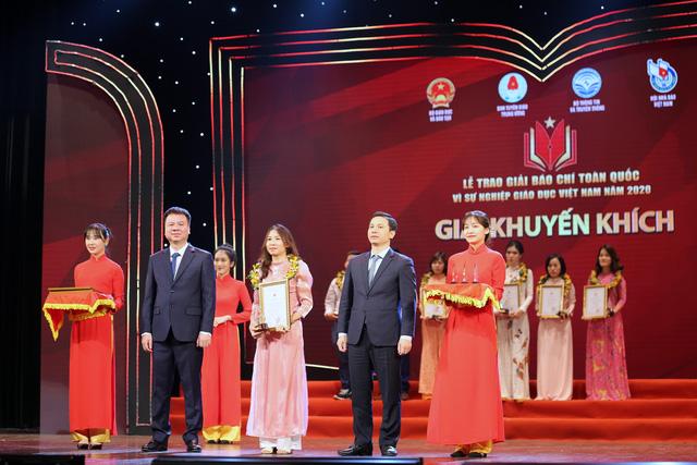 VTV giành 5 giải báo chí toàn quốc Vì sự nghiệp giáo dục Việt Nam 2020 - Ảnh 5.
