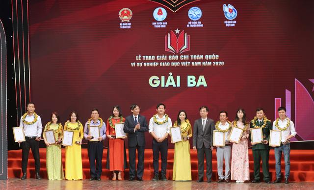 VTV giành 5 giải báo chí toàn quốc Vì sự nghiệp giáo dục Việt Nam 2020 - Ảnh 3.