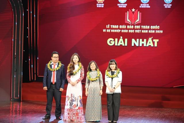 VTV giành 5 giải báo chí toàn quốc Vì sự nghiệp giáo dục Việt Nam 2020 - Ảnh 1.