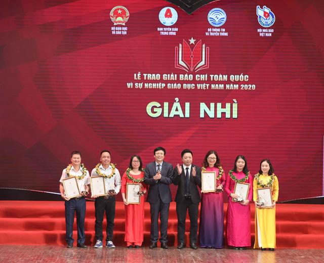 VTV giành 5 giải báo chí toàn quốc Vì sự nghiệp giáo dục Việt Nam 2020 - Ảnh 2.
