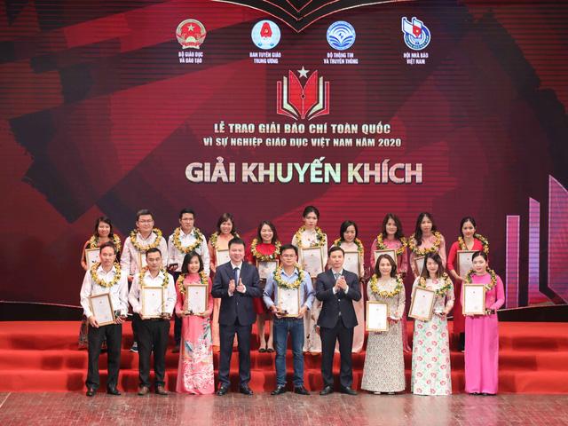 VTV giành 5 giải báo chí toàn quốc Vì sự nghiệp giáo dục Việt Nam 2020 - Ảnh 4.