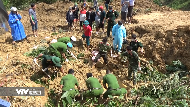 Đã tìm thấy thi thể nạn nhân trong vụ sạt lở đất tại xã Trà Tân, Bắc Trà My - Ảnh 1.