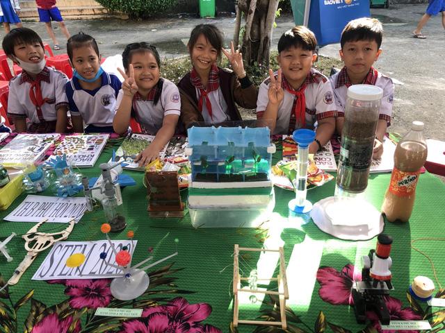 Nỗ lực mang giáo dục STEM đến học sinh tiểu học tỉnh An Giang - Ảnh 2.